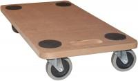 Möbelroller Rollbrett Transportroller MDF 250 kg Hund Möbel Roller mit Softrolle