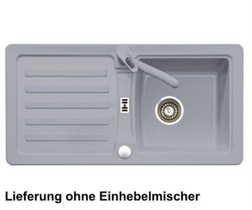 Spülbecken granit grau  Eurodomo Einbauspüle Eurostone PRIMA 45 Granit Grau | Mein ...