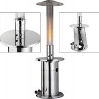 Activa Heizpilz, Flammenheizer aus Edelstahl mit Glassäule, 9 kW, 13050ES