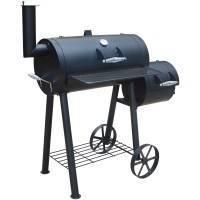 El Fuego® Smoker Edmondton, Holzkohlegrill, BBQ, Räucherofen