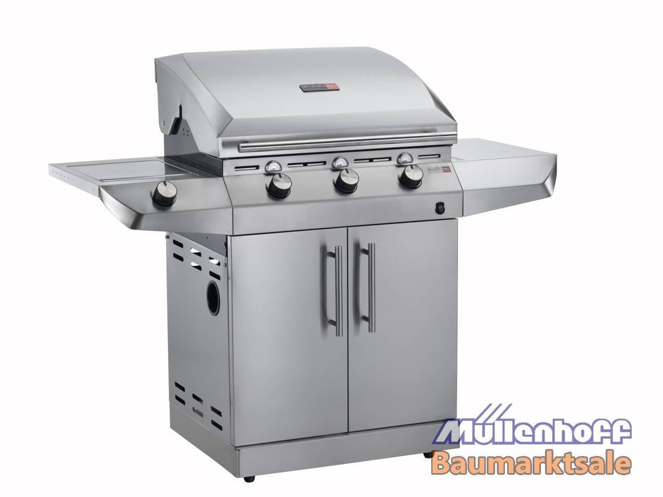 Landmann Gasgrill Inox : Charbroil gasgrill grillwagen t g inox gas grill edelstahl