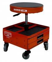 Bahco BLE300 Werkstattstuhl mit Schubladen - Dreh- und Höhenverstellbar