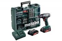 Metabo BS 18 Mobile Werkstatt Akku-Bohrschrauber im Koffer